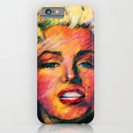 Goddess Marilyn 1 by Kathy Morton Stanion iPhone Case