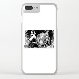 asc 885 - Le wallaby (Queue choisir VI) Clear iPhone Case