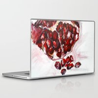 pomegranate Laptop & iPad Skins featuring Pomegranate by James Peart
