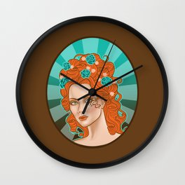 Morgana De Lisle Wall Clock