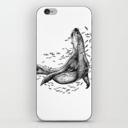 Seal and Fish iPhone Skin