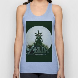Zelda Mask Unisex Tank Top
