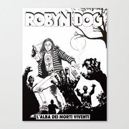 Robin, a friend of mine Canvas Print