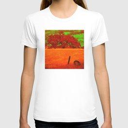 Sci-Fi Alien Countryside T-shirt