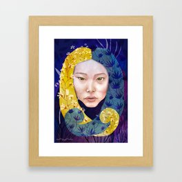Soy lo que Doy Framed Art Print