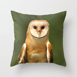 In her eyes Throw Pillow
