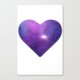Nebular Love Canvas Print