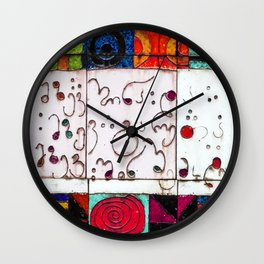 The Sun In And The Sun Out Wall Clock