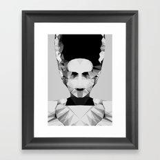 Polygon Heroes - The Bride Framed Art Print