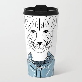 Callie the Cheeta (Color) Travel Mug