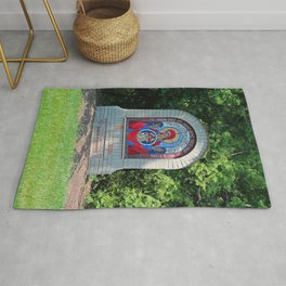 Lourdes University-  Commemoration of the Unborn in the Spring -vertical Rug