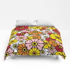FIELD OF FLOWERS Comforters