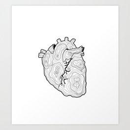 Ubi cor, ibi domus Art Print