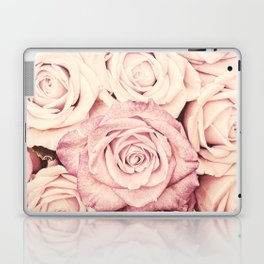 Some people grumble I Floral rose roses flowers pink Laptop & iPad Skin