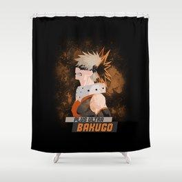 Bakugo Shower Curtain
