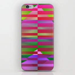 Geometrical-colorplay-pattern #1 iPhone Skin