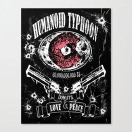 Humanoid Typhoon Canvas Print