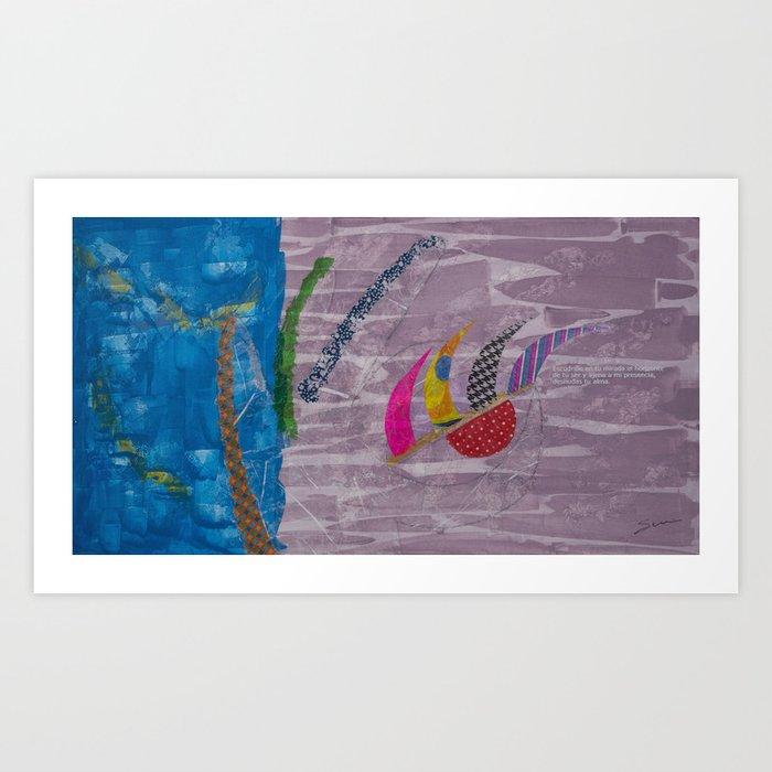 Humanitas 5 Art Print