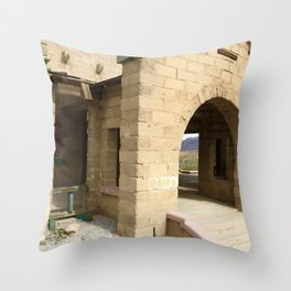 Memories in Nevada Throw Pillow