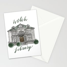 Welch Library Stationery Cards