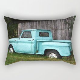 To Be Country - Vintage Truck Art Rectangular Pillow