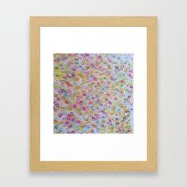 fresh bubbles Framed Art Print