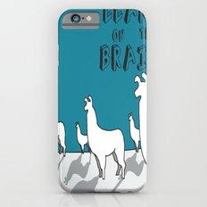 Llama on the Brains 2 Slim Case iPhone 6s