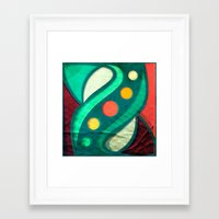planets Framed Art Prints featuring Planets by VessDSign