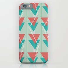 Triangles and lines iPhone 6s Slim Case