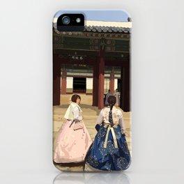 Stuntin' in Hanbok iPhone Case