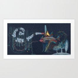 Dadaist Magician Art Print