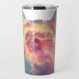 space in cat Travel Mug