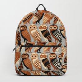 Owls of Athens Backpack