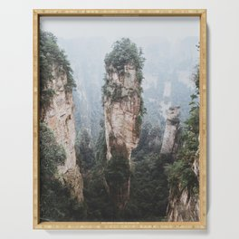 Zhangjiejia National Forest Park Serving Tray