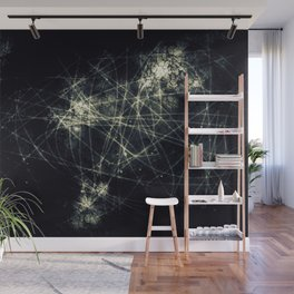 Infinity Particles Abstract Wall Mural