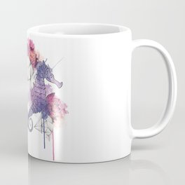 Seahorse Meltdown - Purple/Pink Coffee Mug