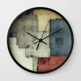 Geometric/Abstract DZ Wall Clock