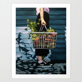 Market Day Art Print