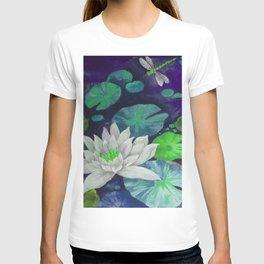 lilypad & dragonfly T-shirt