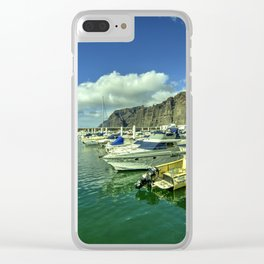 Los Gigantes marina Clear iPhone Case