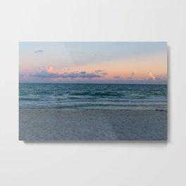 Gorgeous Ocean Sunset Metal Print