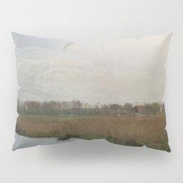 Flat water Landscape Pillow Sham
