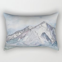 Spring  on Mount Sopris Rectangular Pillow