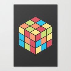#68 Rubix Cube Canvas Print