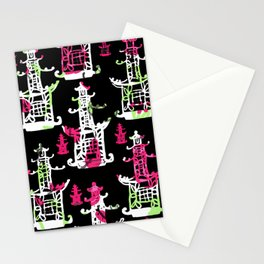 Pagodas Stationery Cards
