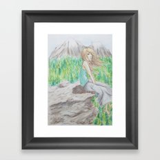 Oh the Sights you See Framed Art Print