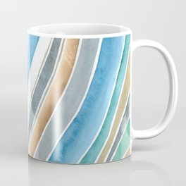 Flowing - Abstract Watercolor/ Acryl Coffee Mug
