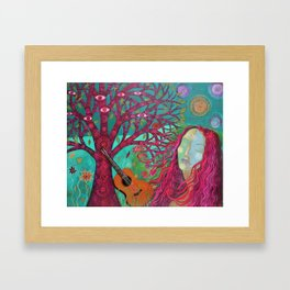 Le Visage de la Paix Framed Art Print