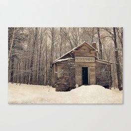 Mission Chapel Canvas Print