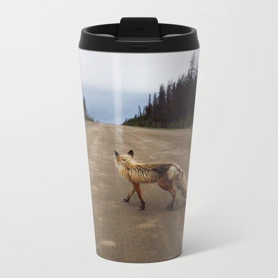 Road Fox Metal Travel Mug